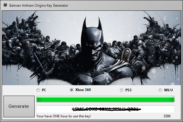 Batman Arkham City Product Key Generator Free Download