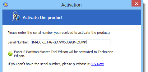 EaseUS Partition Master 13.0 Serial KEY + Crack Free Download