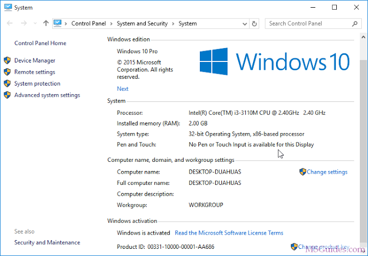 Windows 10 Home Product Key 2019 Activation 64 Bit