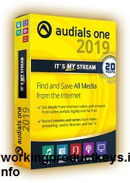 Audials One 2019 Crack + License Key {win+mac} Free Download