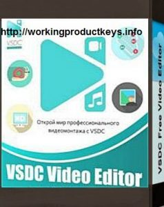 VSDC Free Video Editor pro 5.8.9.858 Crack + License Key Final