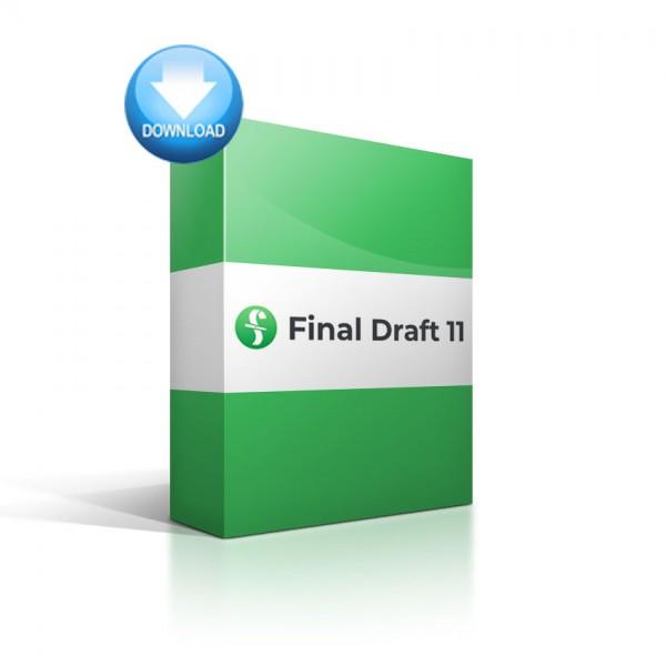 Final Draft 11 Crack + Keygen With 100% Free Download 2019